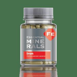 Органическое железо 60 капсул
