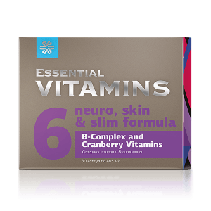 Северная клюква и В-витамины 30 капсул
