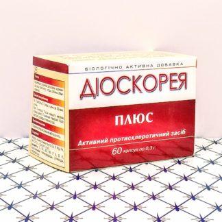 Диоскорея плюс против старения 60 капсул Янтр...