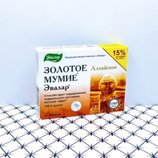 Золотое мумие алтайское 60 таблеток