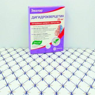 Дигидрокверцетин 60 таблеток Эвалар