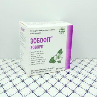 Зобофит 60 капсул для щитовидной железы