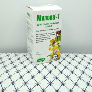 Милона-1 100 таблеток для дыхательных путей Э...