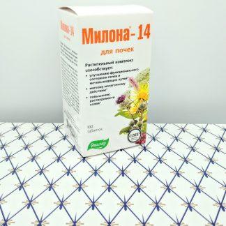 Милона-14 100 таблеток для почек Эвалар